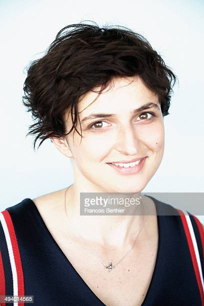 Director Alice Rohrwacher is photographed for Self Assignment on May 20 2014 in Cannes France
