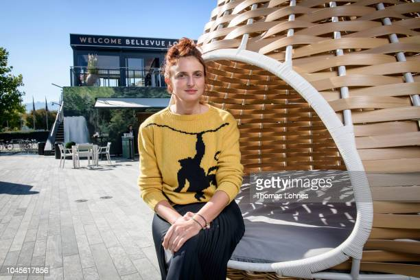Director Alice Rohrwacher poses at the 'Lazzaro Felice' portrait session during the 14th Zurich Film Festival on September 27 2018 in Zurich...