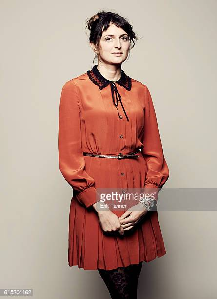 Director Alice Rohrwacher poses for a portrait during the 54th New York Film Festival at Lincoln Center on October 2 2016 in New York City