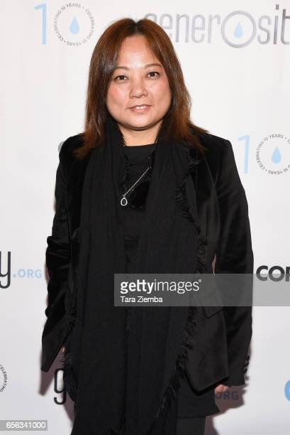 Director Alice Wang attends a Generosityorg fundraiser for World Water Day at Montage Hotel on March 21 2017 in Beverly Hills California