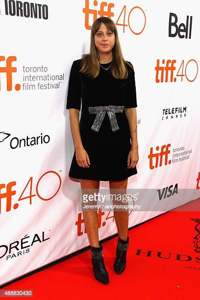 Director Alice Winocour attends the 'Disorder' premiere during the 2015 Toronto International Film Festival held at Roy Thomson Hall on September 17...