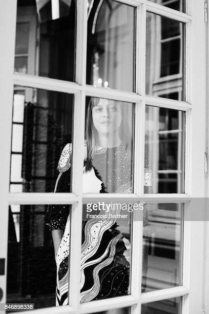 Director Alice Winocour is photographed on September 7 2017 in Deauville France