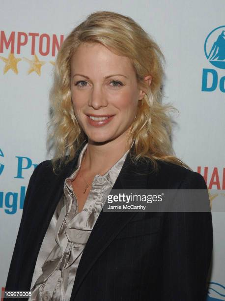 Director Alison Eastwood arrives at the Hamptons Film Festival Screening Rails Ties Red Carpet at the United Artists Theater in East Hampton in New...