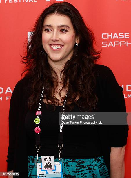 Director Alison Klayman attends the 'Ai Weiwei' premiere during the 2012 Sundance Film Festival held at Library Center Theater on January 22 2012 in...