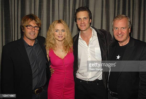 Director Allan White Heather Graham Randall Batinkoff and Producer Jerry Wayne attend the 'Broken' New York City Premiere screening in New York City...