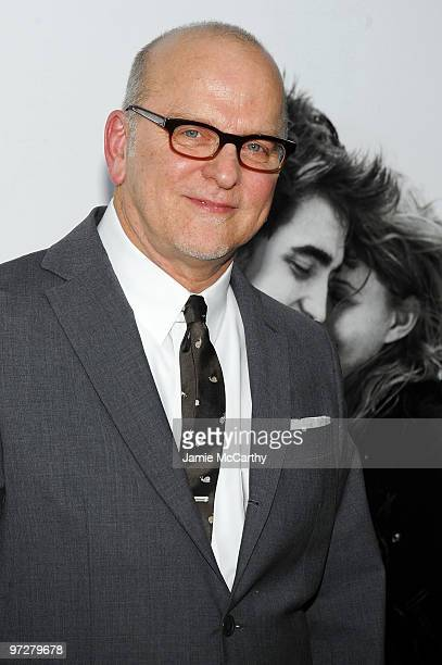 Director Allen Coulter attends the premiere of Remember Me at the Paris Theatre on March 1 2010 in New York City
