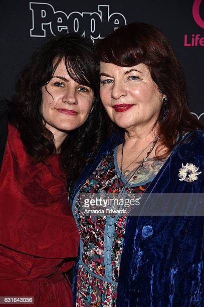 Director Allison Anders and music supervisor Tiffany Anders arrive at the premiere scrrening of Lifetime Television's 'Beaches' at the Regal LA Live...