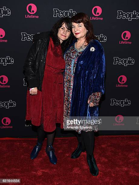 Director Allison Anders and music supervisor Tiffany Anders arrive at the premiere screening of Lifetime Television's 'Beaches' at the Regal LA Live...