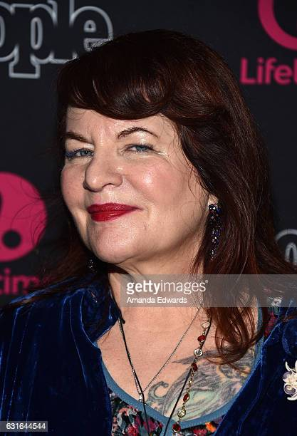 Director Allison Anders arrives at the premiere screening of Lifetime Television's 'Beaches' at the Regal LA Live Stadium 14 on January 13 2017 in...