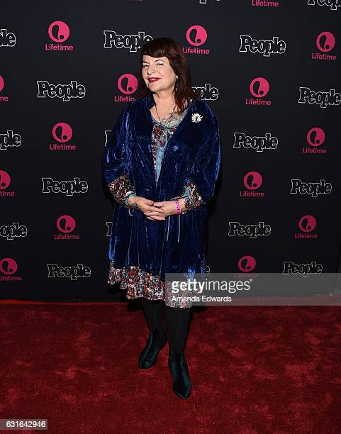 Director Allison Anders arrives at the premiere scrrening of Lifetime Television's 'Beaches' at the Regal LA Live Stadium 14 on January 13 2017 in...