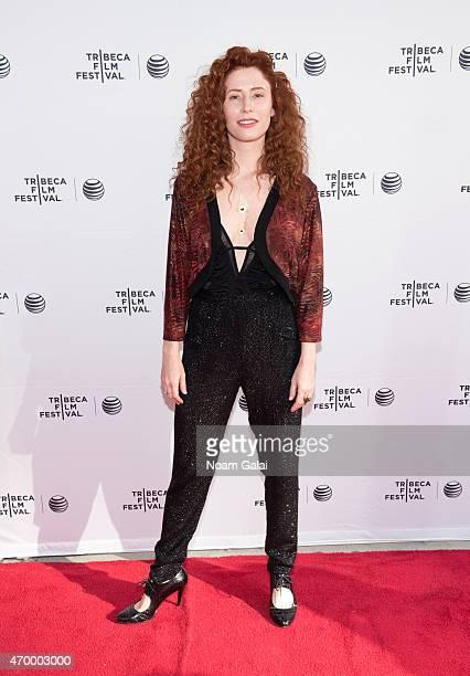 Director Alma Har'el attends a screening of 'LoveTrue' during 2015 Tribeca Film Festival at SVA Theatre 2 on April 16 2015 in New York City