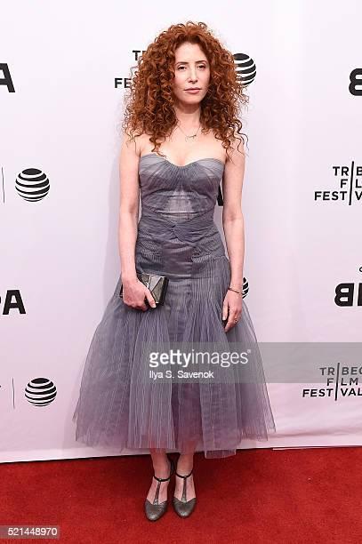 Director Alma Har'el attends LoveTrue Premiere 2016 Tribeca Film Festival at SVA Theatre 1 on April 15 2016 in New York City