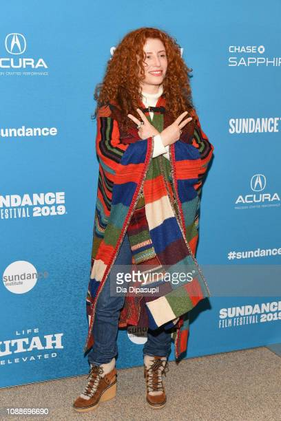 Director Alma Har'el attends the Honey Boy Premiere during the 2019 Sundance Film Festival at Eccles Center Theatre on January 25 2019 in Park City...
