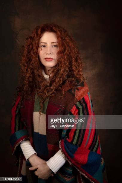 Director Alma Har'el from 'Honey Boy' is photographed for Los Angeles Times on January 25 2019 at the 2019 Sundance Film Festival in Salt Lake City...