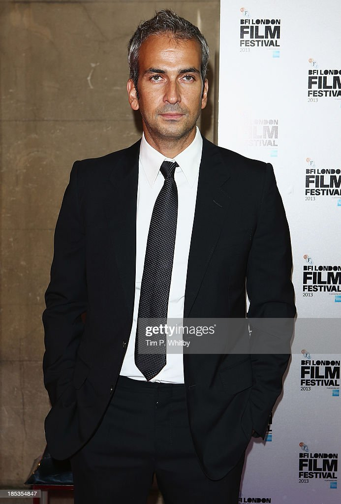 Director Alphan Eseli attends the BFI London Film Festival Awards during the 57th BFI London Film Festival at Banqueting House on October 19, 2013 in London, England.