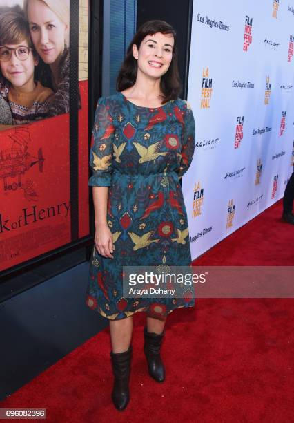 Director Amanda Evans attends the opening night premiere of Focus Features' The Book of Henry during the 2017 Los Angeles Film Festival at Arclight...