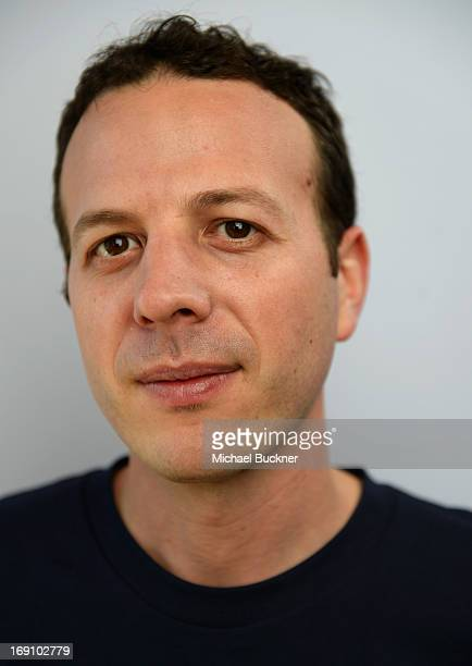 Director Amat Escalante poses for a portrait at the Variety Studio at Chivas House on May 20 2013 in Cannes France