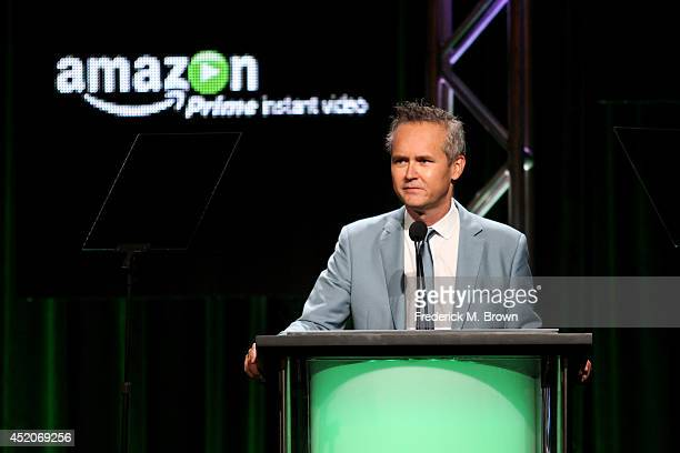 Director Amazon Video on Demand Roy Price speaks onstage during the Amazon Prime Instant Video portion of the 2014 Summer Television Critics...