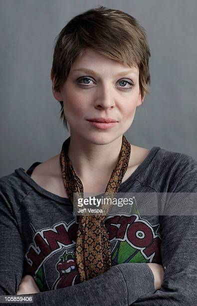 Director Amber Benson poses for a portrait during the 2010 Sundance Film Festival held at the WireImage Portrait Studio at The Lift on January 23...