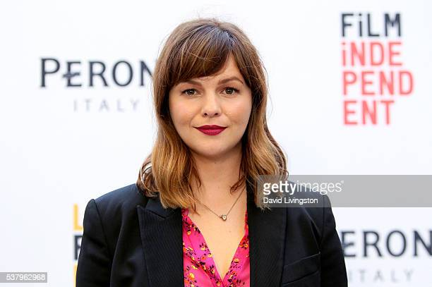 "Director Amber Tamblyn attends the LA Film Festival premiere of Tangerine Entertainment's ""Paint It Black"" at Bing Theater at LACMA on June 3, 2016..."