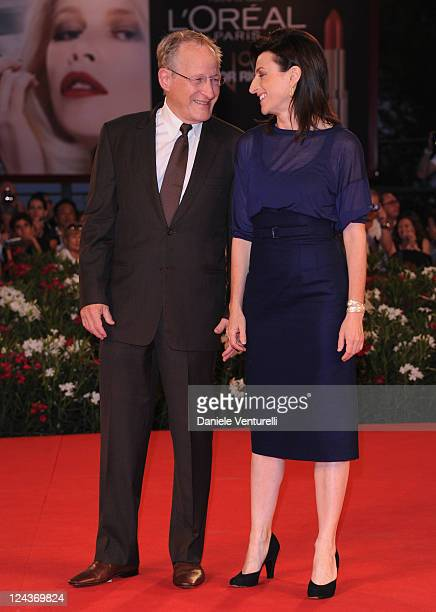 """Director Ami Canaan Mann and producer Michael Mann attend the """"Texas Killing Fields"""" Premiere during the 68th Venice International Film Festival at..."""