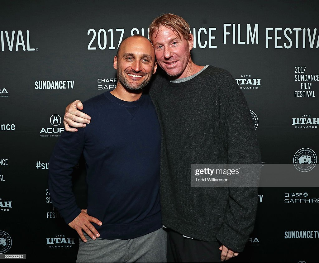 Director Amir Bar-Lev (L) and producer Eric Eisner attend the premiere of Amazon Studios' 'Long Strange Trip' at the 2017 Sundance Film Festival at Yarrow Hotel Theater on January 23, 2017 in Park City, Utah.