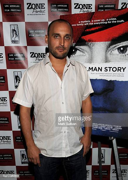 """Director Amir Bar-Lev arrives at the premiere of """"The Tillman Story"""" during the 2010 Los Angeles Film Festival at Regal Cinemas at LA Live Downtown..."""