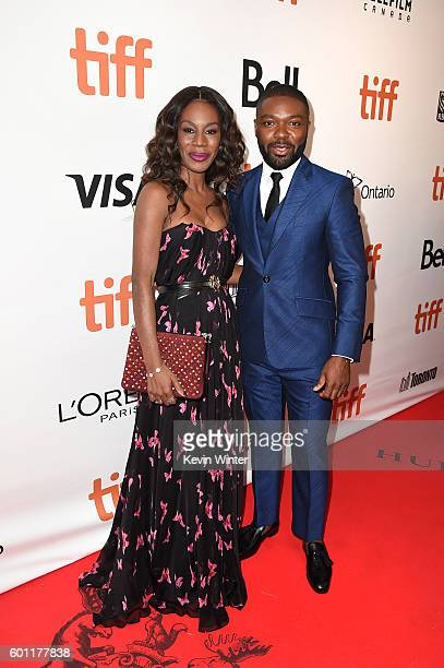 Director Amma Asante and Actor David Oyelowo attend the 'A United Kingdom' premiere during the 2016 Toronto International Film Festival at Roy...