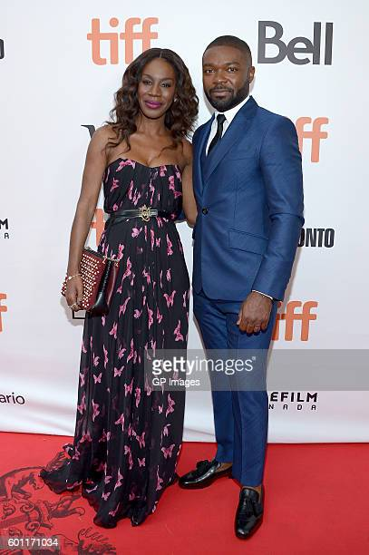 Director Amma Asante and Actor David Oyelowo attends the 'A United Kingdom' premiere during the 2016 Toronto International Film Festival at Roy...