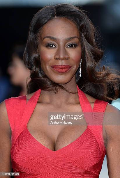 Director Amma Asante attends the 'A United Kingdom' Opening Night Gala screening during the 60th BFI London Film Festival at Odeon Leicester Square...