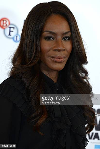 Director Amma Asante attends the 'A United Kingdom' photocall during the 60th BFI London Film Festival at The Mayfair Hotel on October 5 2016 in...