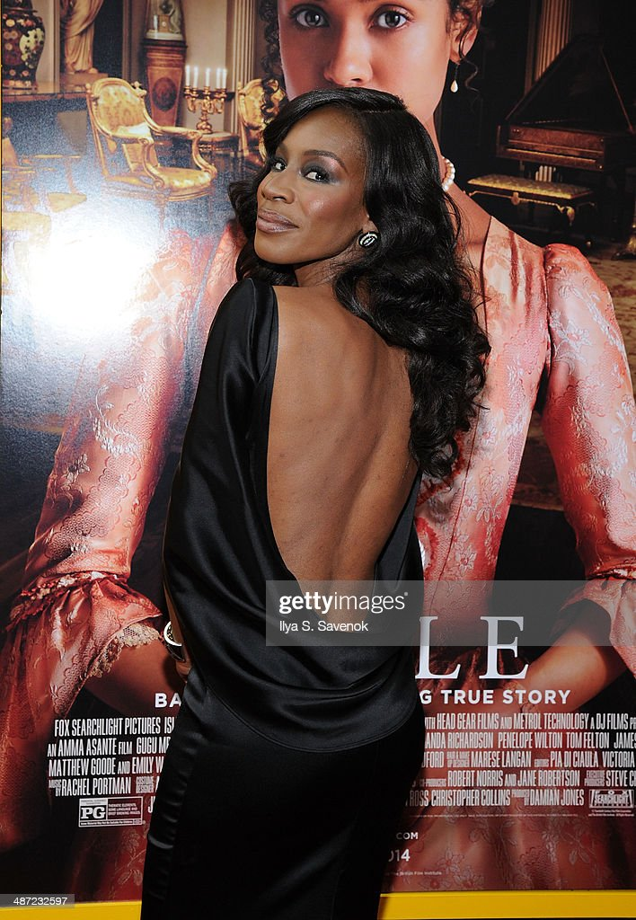 Director Amma Asante attends the 'Belle' premiere at The Paris Theatre on April 28, 2014 in New York City.