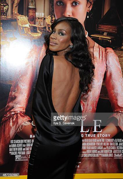 Director Amma Asante attends the 'Belle' premiere at The Paris Theatre on April 28 2014 in New York City