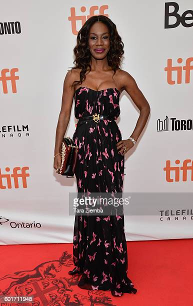 Director Amma Asante attends the premiere of 'A United Kingdom' at the Toronto International Film Festival at Roy Thomson Hall on September 9 2016 in...