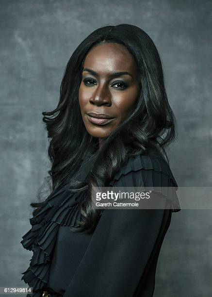 Director Amma Asante is photographed during the 60th BFI London Film Festival at The Mayfair Hotel on October 5 2016 in London England