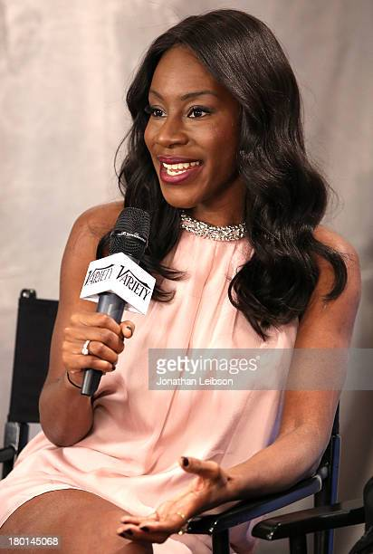 Director Amma Asante speaks at the Variety Studio presented by Moroccanoil at Holt Renfrew during the 2013 Toronto International Film Festival on...