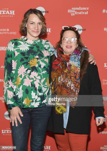 Director Amy Adrion and composer Laura Karpman attend the 'Half The Picture' Premiere during the 2018 Sundance Film Festival at Prospector Square...