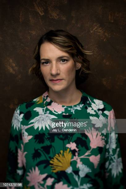 Director Amy Adrion from Half the Picture is photographed for Los Angeles Times on January 23 2018 in the LA Times Studio at Chase Sapphire on Main...