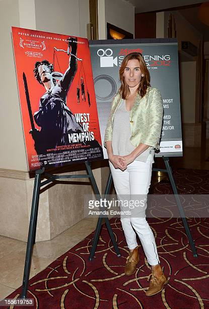 Director Amy Berg attends the 2012 Variety Screening Series of West Of Memphis at Pacific Theaters at the Grove on November 5 2012 in Los Angeles...
