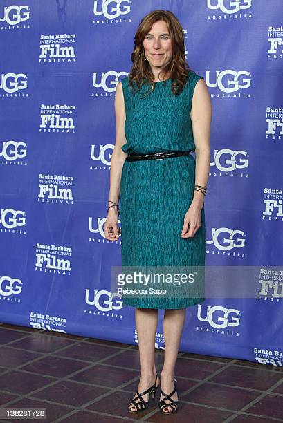 Director Amy Berg of West of Memphis arrive on the red carpet at the Cinema Vanguard Award Tribute to Jean Dujardin and Berenice Bejo held at the...