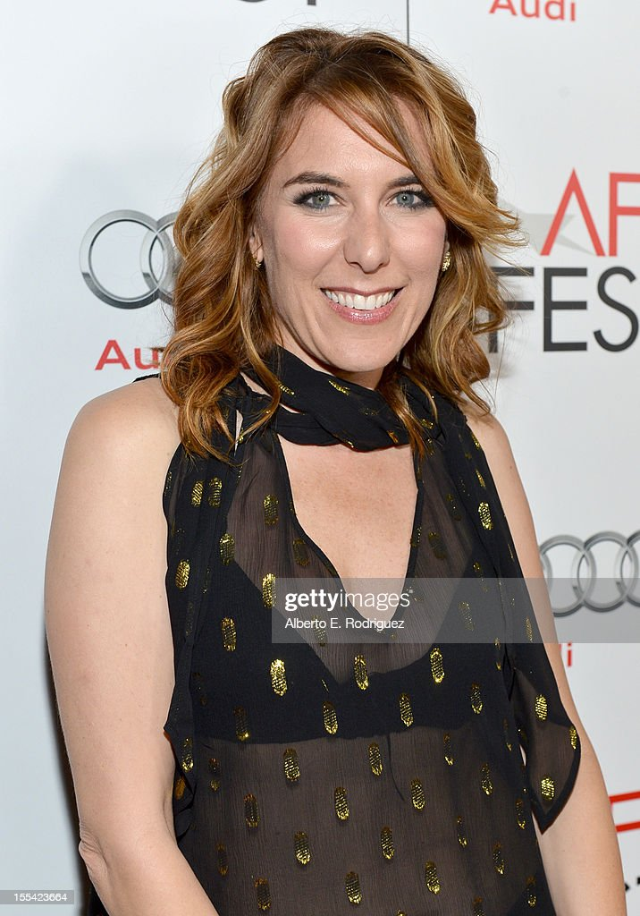 Director Amy Berge arrives at the 'Holy Motors' special screening during the 2012 AFI Fest at Grauman's Chinese Theatre on November 3, 2012 in Hollywood, California.