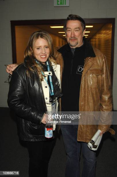Director Amy Redford and director of Sundance Film Festival Geoffrey Gilmore attend the premiere of The Guitar during the 2008 Sundance Film Festival...