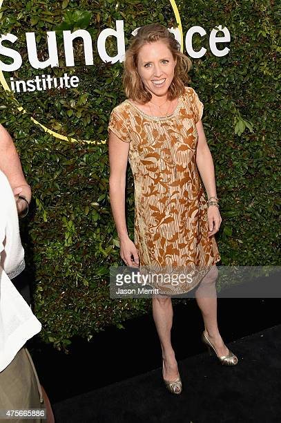Director Amy Redford attends the 2015 Sundance Institute Celebration Benefit at 3LABS on June 2 2015 in Culver City California