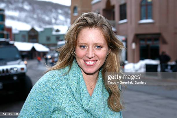 Director Amy Redford promoting her film The Guitar at the 2008 Sundance Film Festival in Park City Utah