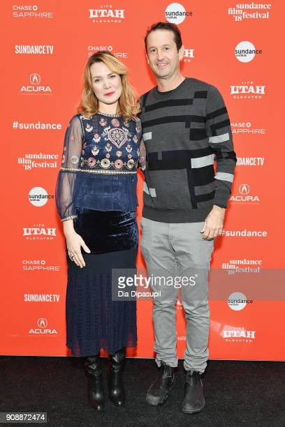 Director Amy Scott and Director of Programing Sundance Film Festival Trevor Groth attend Sundance Institute attend the 'Hal' Premiere during the 2018...