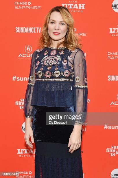 Director Amy Scott attends the 'Hal' Premiere during the 2018 Sundance Film Festival at The Marc Theatre on January 22 2018 in Park City Utah