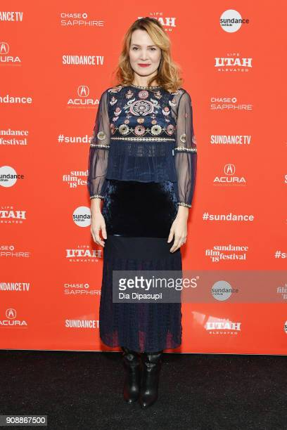 "Director Amy Scott attends the ""Hal"" Premiere during the 2018 Sundance Film Festival at The Marc Theatre on January 22, 2018 in Park City, Utah."
