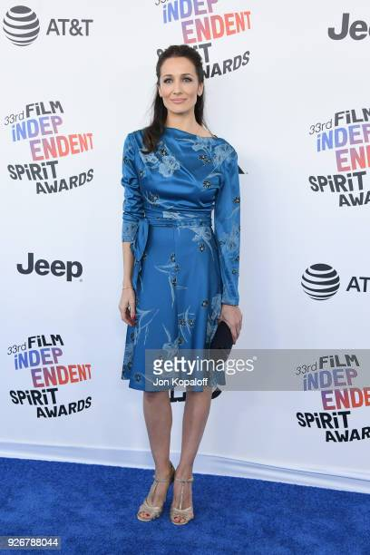 Director Ana Asensio attends the 2018 Film Independent Spirit Awards on March 3 2018 in Santa Monica California