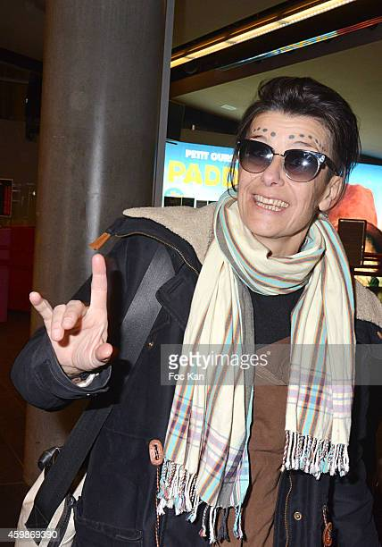 Director Anastasia Mordin attends the 'Cheries Cheris' - LGBT 20th Festival - : Closing Ceremony At MK2 Bibliotheque on December 2, 2014 in Paris,...
