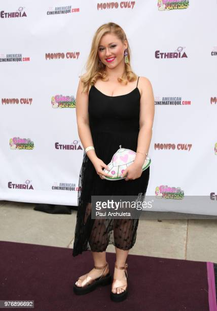 Director Anca Vlasan attends the Etheria Film Night at the Egyptian Theatre on June 16 2018 in Hollywood California